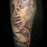 龍の刺青作品|製作中