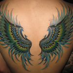 羽|翼のタトゥー|刺青作品