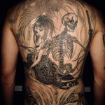 鳳凰于飛、Black and grey tattoo