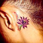 スモールタトゥー、蓮の花